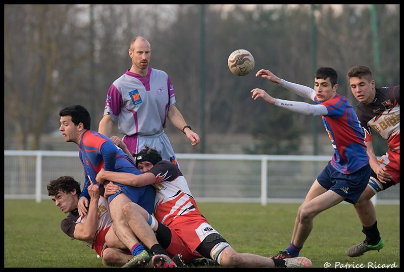 rugby TUC Saudrune Retour