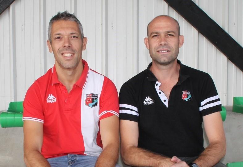 Frédéric Lafragette, Nicolas Dedieu & Cédric Cerciat (Co-présidents du RC Saudrune)